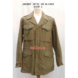 USM-43 jacket + hood, dated March 1945