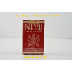 ONE PACKET ''PALL MALL'' CIGARETTES US ARMY