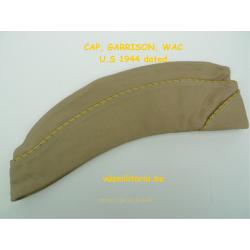 Caps, Garrison,Cotton Khaki,WAC, U.S.WWII