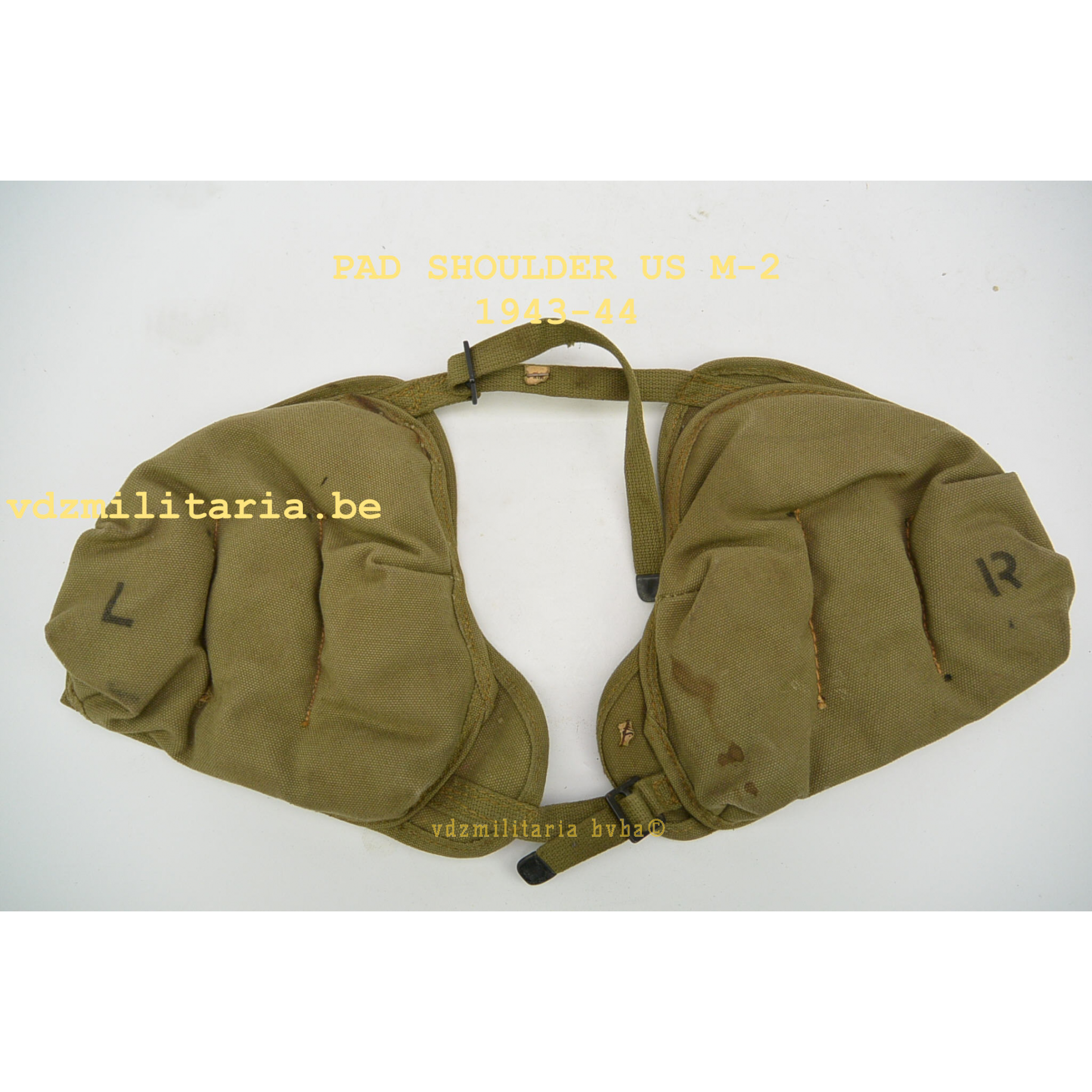 PAD SHOLDER US M-2 TAN COLOR 1943/44,WWII