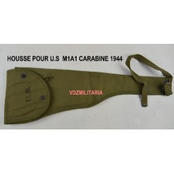 """Housse de U.S.M1A1 carabine pliante, web,""""HARIAN 1944"""" WWII"""