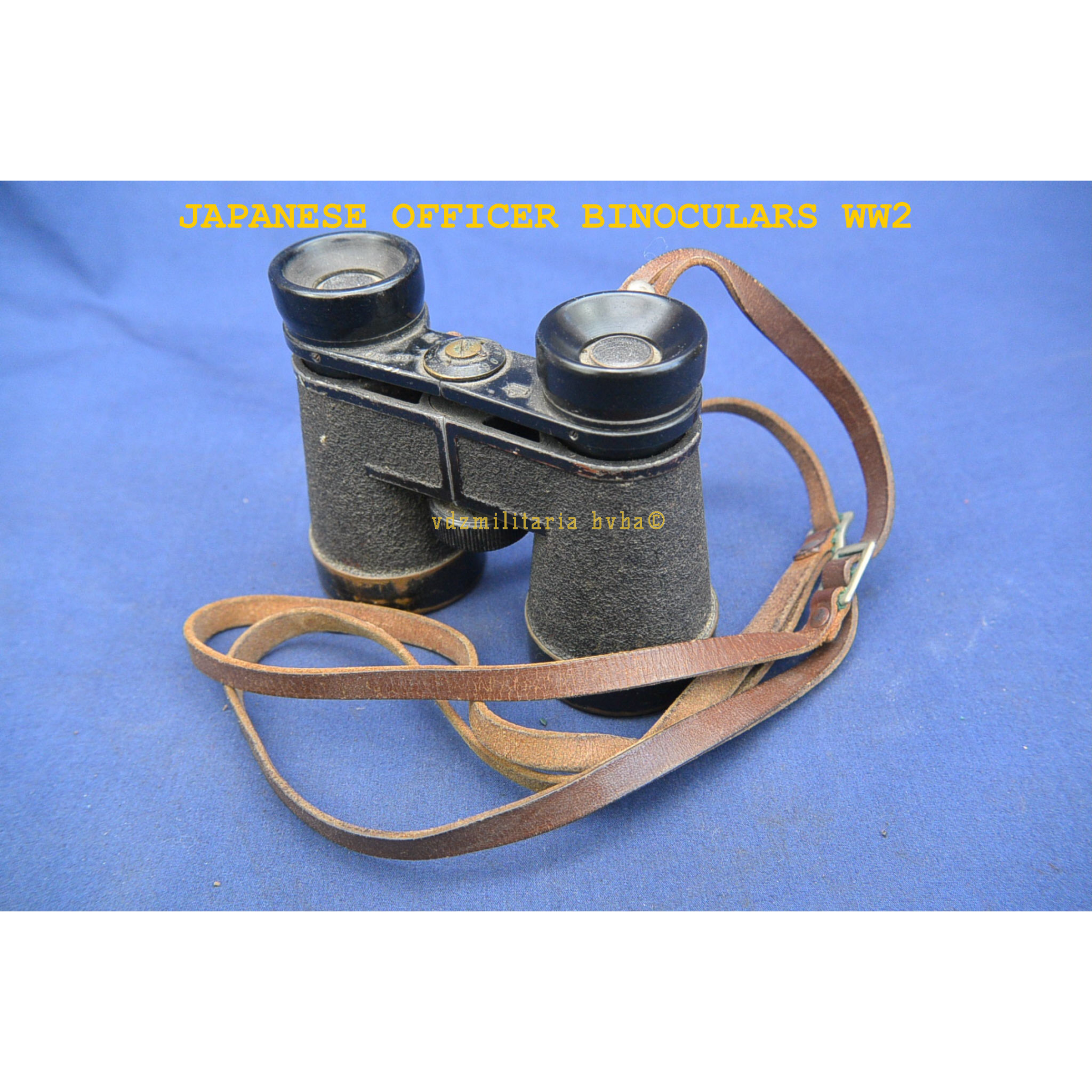 BINOCULARS OF A WW2 JAPANESE OFFICER