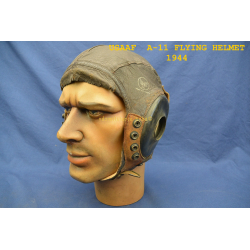 USAAF TYPE A-11 FLIGHT CAP DATED -1944