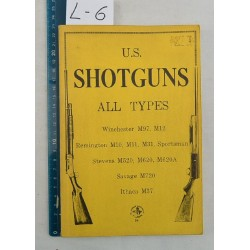 "Livre ""U.S. SHOTGUNS ALL TYPES"""