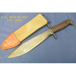 U.S. M-1912 BOLO KNIFE WITH SCABBARD