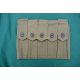 5 POCKET,AMMUNITION MAGAZINES, U.S. THOMPSON WW2