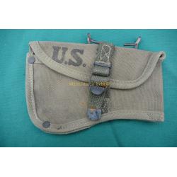 HOUSSE DE HACHE U.S. M-1910 daté 1944 WWII