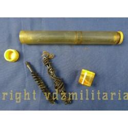 Huilier de GARAND US WW2 avec lavoir+ficelle+brosse a canon+ 2 pots de graisse