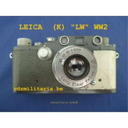 "LEICA ""LUFTWAFFEN EIGENTUM"", SERIAL N° 390679 K. WW2"