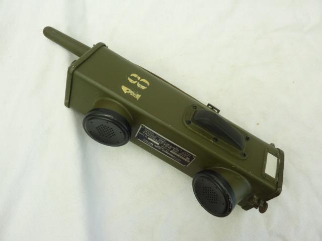 SCR-536,WALKI-TALKI BC-611,DATED 1943 U.S. WW2