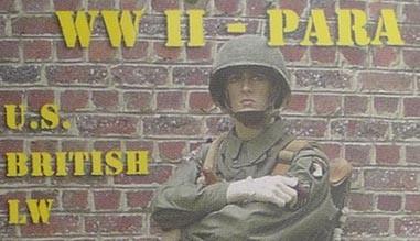 Parachutiste US WW2 - equipement, uniformes, chaussures