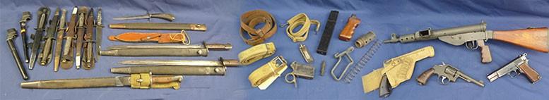 Armes, accessoires, éclatés, pièces détachées..